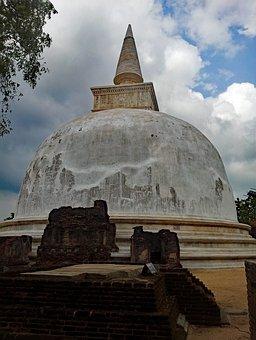 Polonnaruwa, Temple, Sri Lanka, Stupa