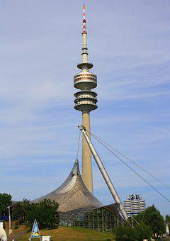 Stadium, Radio Tower, Tv Tower, Architecture, Building