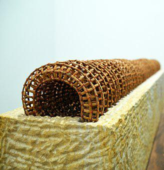 Wicker, Tube, Art, Tunnel, Art Installation, Biennale