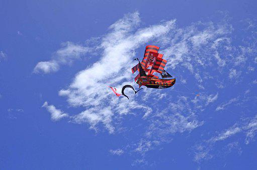 Kite, Wind, Sky, Summer, Freedom, Air, Activity
