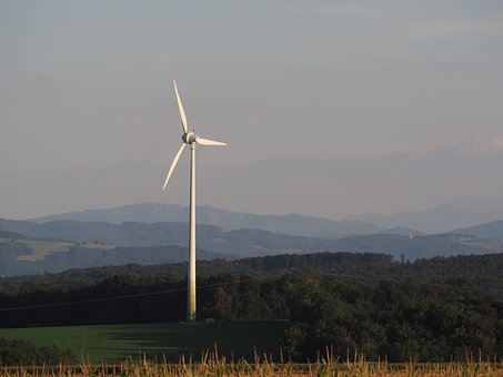 Pinwheel, Landscape, Current, Wind Energy, Wind Power