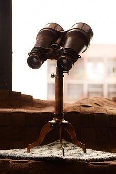 Binocular, Antque, Art