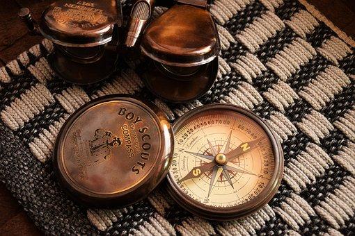Compass, Antque, Art