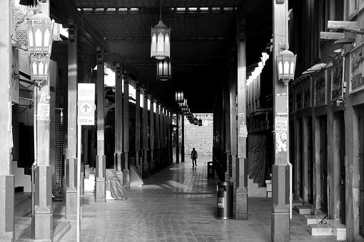 Dubai, Market, Asia, Shopping, Traditional, Middle