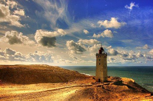 Denmark, Rubric, Rubjerg Knud, By The Sea, Coast