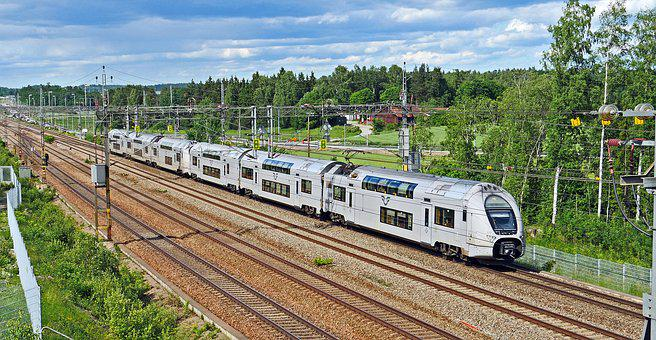 Doppelstockzug, Sweden, Electrical Multiple Unit