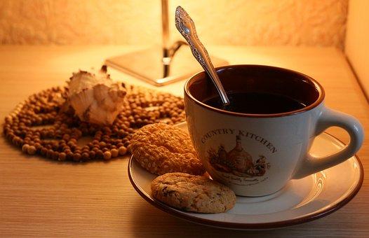 Winter, Fatigue, Evening, Heat, Cookies, Tea, Calm