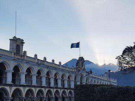 Antigua Guatemala, Guatemala, Sunset, Travel