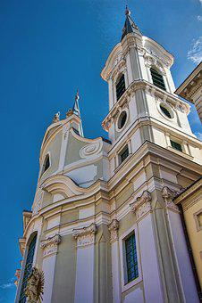 Esztergom, Hungary, Temple, Church, Church Of Sv