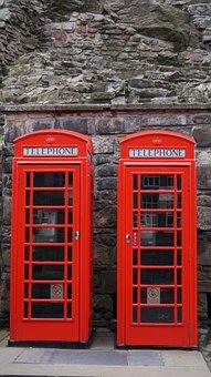 Edinburgh, Castle, March, Spring, Phone, Link, History
