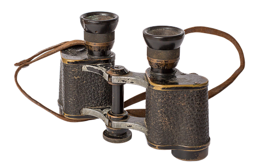 Binoculars, Old, Nostalgia, Distant, Watch, Sharpness