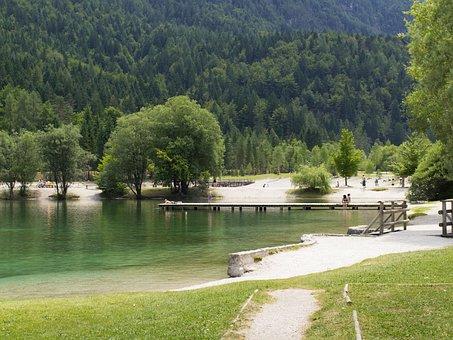 Slovenia, Jasna Lake, Water, Holiday, Recovery