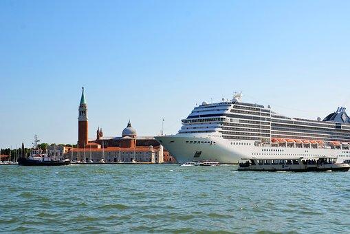 Venice, Pollution, Cruise, Ship, Cruise Ship, Vacations