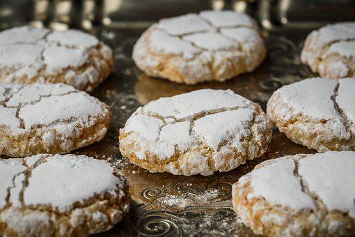 Ricciarelli, Siena, Pastry, Almond, Cookie, Traditional