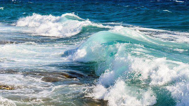 Wave, Smashing, Transparent, Water, Ocean, Nature