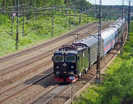 S-bahn-train, Suburban, Lokbespannt