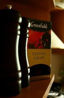 Tea, Kitchen, Greenfield, Grapes, Comfort, Heat, House