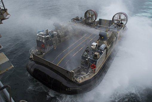 Lcac, United States Navy, Naval, Vessel, Air Cushion