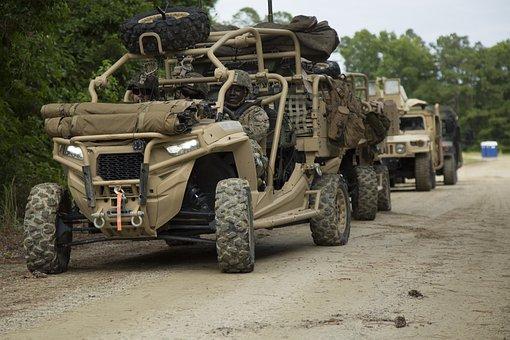 Utility Tactical Vehicle, Utv, Usmc