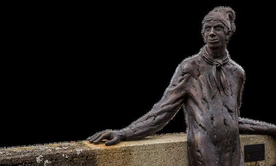 Langenargen, Lake Constance, Sculpture, Wall