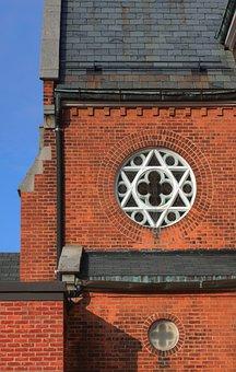 Church, Steeple, Window, Building, Religion, Tower