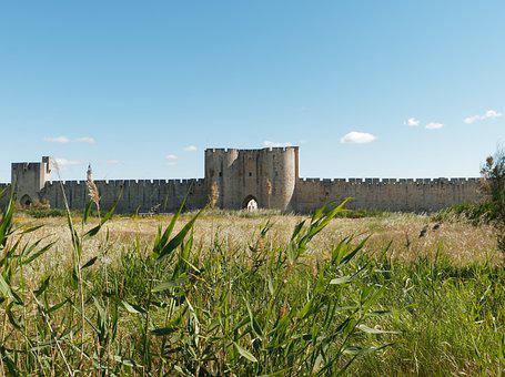 Ramparts, Aigues-mortes, France, Acute Dead, Heritage