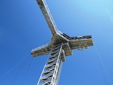 Sky Line, Blue, Tower Building, Electric, Blue Sky