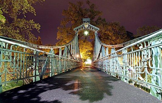 Bridge Groszowy, Historic, Bridge, Decorated With