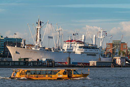 Cap San Diego, Hamburg, Port Of Hamburg