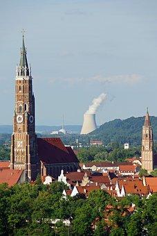 Landshut, Church, Nuclear Power Plant, Architecture