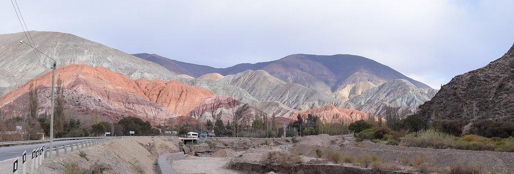 Colors, Nature, Hill Of Seven Colors, Argentina, Color