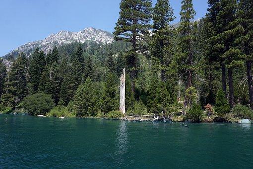 Lake Tahoe, Emerald Bay, Lake, Summer, Nature