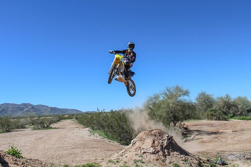Motocross, Freeride, Extreme, Dirt, Rider, Offroad
