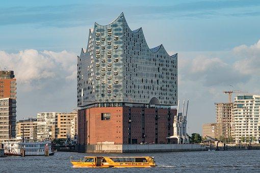 Elbe Philharmonic Hall, Elphi, Hamburg, Hamburg Port