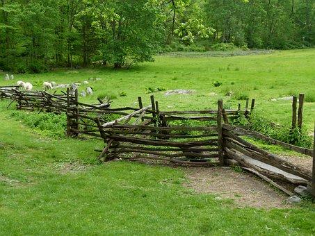 Historic, Farm, Rural, Old, Barn, Farming, Wooden
