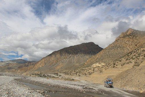 Jomsom, Mountain, Trekking, Nature, Travel, Annapurna