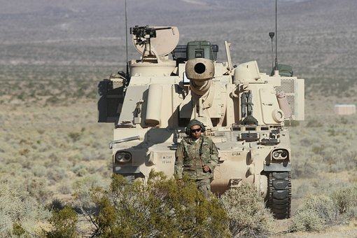 M-109a6 Paladin, Us Army, United States Army, Movement