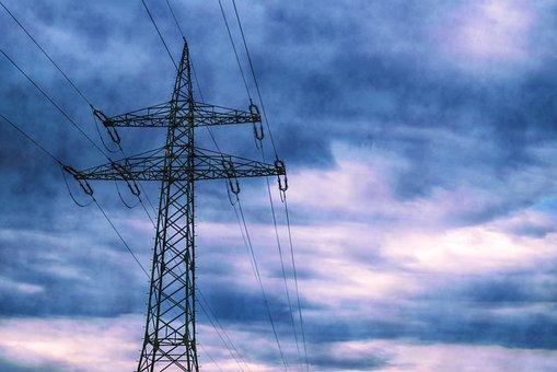 Strommast, Energy, Power Poles, Current, Power Line