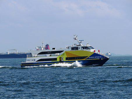 Ship, Boat, Ocean, Sea, Cargo, Sail, Yacht, Cruise