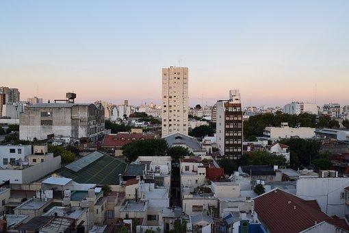 Hurbano, City, Edficios, Sky, Structure, Architecture
