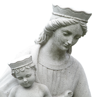Statue, Virgin Mary, Holy, Sculpture, Maria