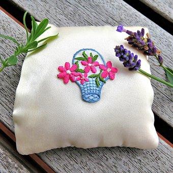 Lavender, Medicinal Plant, Scented Plant, Sachet, White