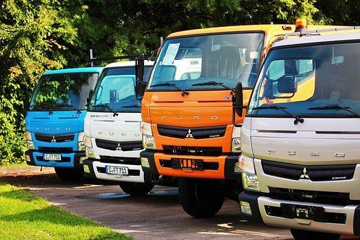 Truck, Road, Autohaus, Drive, Economy, Small Truck, Men