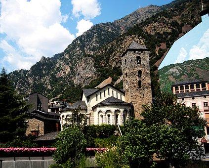 Church, Andorra, Andorra La Vella, Pyrenees