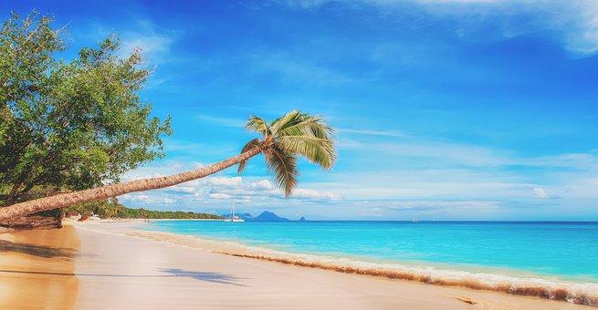 Beach, The Caribbean, Paradise, Sand, The Sky, Country