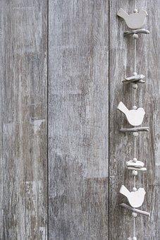 Background, Wood, Bird, Invitation, Coupon, Postcard
