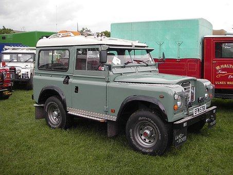 Land Rover, Series 3, Safari, Vehicle, Off-road, Farm