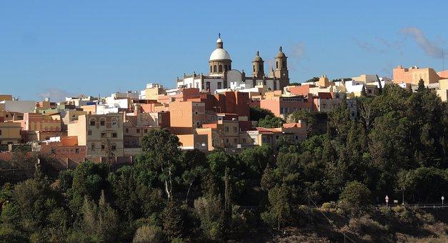 Landscape, Church, Temple, Las Palmas De Gran Canarias