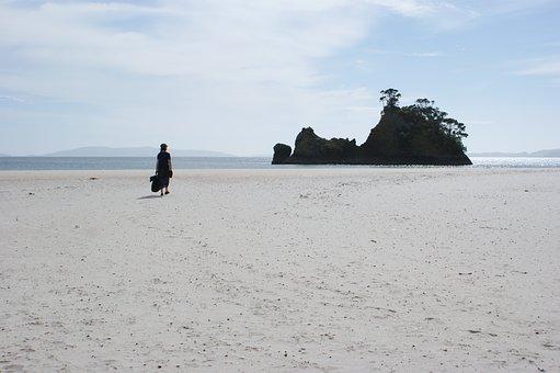 New Zealand, Beach, Coromandel