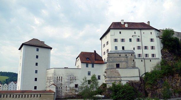 Passau, Bavaria, Old Town, Danube, Niederbayern